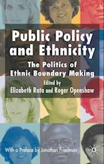 Public Policy and Ethnicity