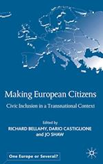 Making European Citizens (One Europe or Several?)