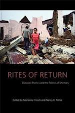 Rites of Return af Marianne Hirsch, Nancy K Miller