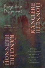 Recognition or Disagreement (New Directions in Critical Theory, nr. 30)