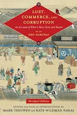 Lust, Commerce, and Corruption (TRANSLATIONS FROM THE ASIAN CLASSICS)