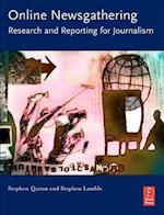 Online Newsgathering af Stephen Lamble, Stephen Quinn