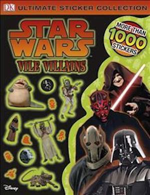 Star Wars Vile Villains Ultimate Sticker Collection