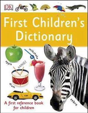 Bog, paperback First Children's Dictionary af DK