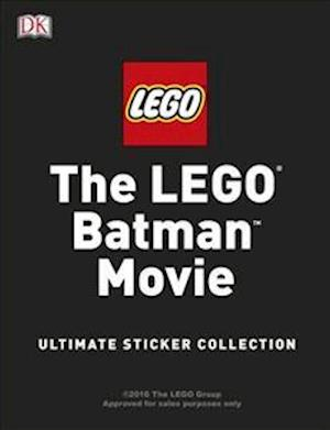 Bog, paperback The LEGO (R) BATMAN MOVIE Ultimate Sticker Collection af DK