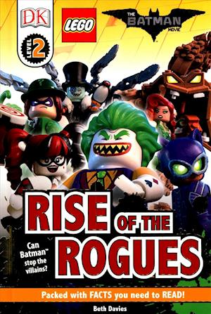 Bog, hardback DK Reader Level 2: The LEGO Batman Movie Rise of the Rogues af Beth Davies