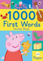 Peppa Pig: 1000 First Words Sticker Book (Peppa Pig)
