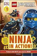 DK Reader LEGO NINJAGO Ninja in Action! (DK Readers. Level 1)