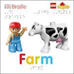 DK Braille LEGO DUPLO Farm (Dk Braille)