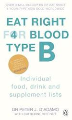Eat Right For Blood Type B (Eat Right For Blood Type)
