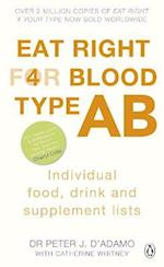 Eat Right for Blood Type AB (Eat Right For Blood Type)