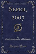 Sefer, 2007 (Classic Reprint) af Charleston Southern University