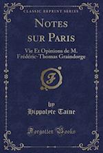 Notes Sur Paris