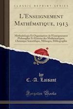 L'Enseignement Mathematique, 1913