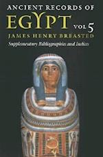 Ancient Records of Egypt af James Henry Breasted