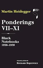 Ponderings VII-XI (Studies in Continental Thought Hardcover)