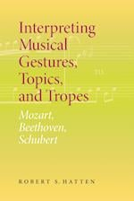 Interpreting Musical Gestures, Topics, and Tropes (Musical Meaning and Interpretation)