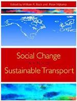 Social Change and Sustainable Transport af William Black