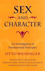 Sex and Character af Otto Weininger