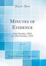 Minutes of Evidence, Vol. 4 af Royal Commission on Agriculture
