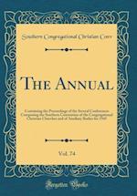 The Annual, Vol. 74