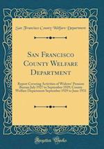 San Francisco County Welfare Department