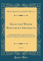 Selected Water Resources Abstracts, Vol. 3