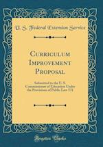 Curriculum Improvement Proposal