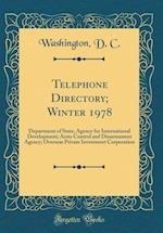 Telephone Directory; Winter 1978