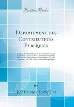 département Des Contributions Publiques
