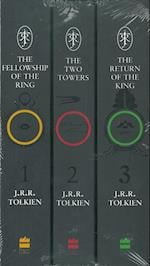 The Lord of the Rings 7 Book Slipcase Film Tie-In af J R R Tolkien