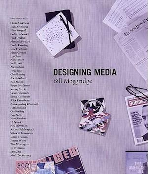 Bog, hardback Designing Media af Bill Moggridge