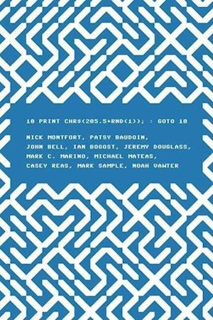 10 PRINT CHR$(205.5+RND(1)); : GOTO 10