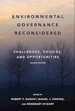 Environmental Governance Reconsidered (American and Comparative Environmental Policy)