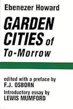 Garden Cities of To-Morrow (Garden Cities of To Morrow)