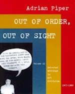 Out of Order, Out of Sight af Adrian Piper