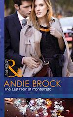 The Last Heir of Monterrato af Andie Brock
