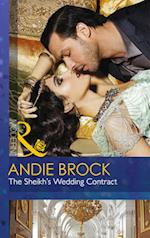 The Sheikh's Wedding Contract (Society Weddings, Book 4) af Andie Brock