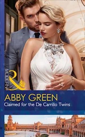 Bog, paperback Claimed for the de Carrillo Twins (Wedlocked!, Book 84) af Abby Green