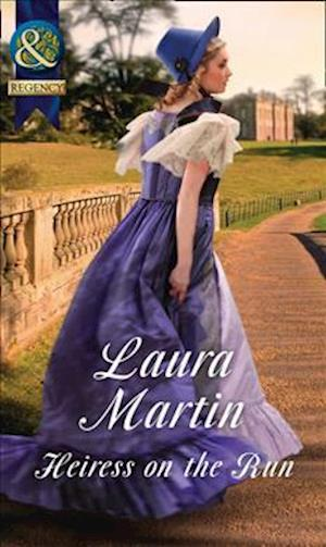 Bog, paperback Heiress on the Run af Laura Martin