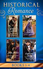 Historical Romance Collection: Book 1-4 March