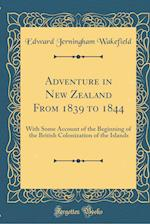 Adventure in New Zealand from 1839 to 1844
