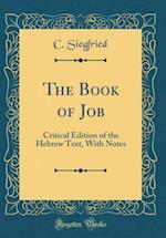 The Book of Job af C. Siegfried