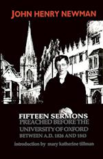 Fifteen Sermons Preached Before the University of Oxford Between A.D. 1826 and 1843 af John Henry Newman