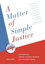 A Matter of Simple Justice