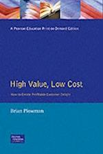 High Value Low Cost af Sharon Plowman, Brian Plowman