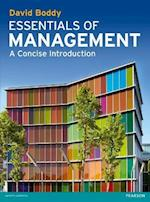 Essentials of Management af David Boddy