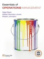 Essentials of Operations Management with MyOMLab af Alistair Brandon Jones, Nigel Slack, Robert Johnston