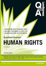 Law Express Question and Answer: Human Rights (Law Express Questions Answers)