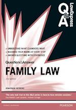 Law Express Question and Answer: Family Law (Law Express Questions Answers)